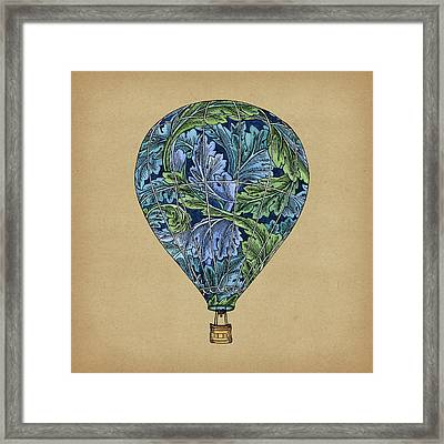 Flight Pattern Framed Print