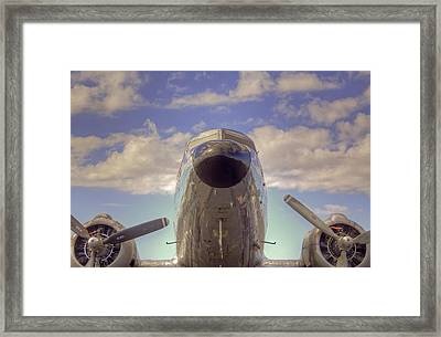 Flight Ready Framed Print by William Wetmore
