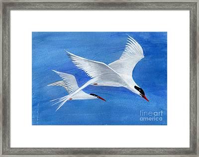 Flight - Painting Framed Print by Veronica Rickard