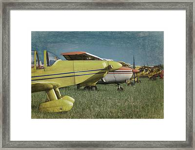 Framed Print featuring the photograph Flightline by James Barber