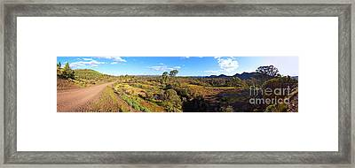 Flinders Ranges Framed Print by Bill Robinson