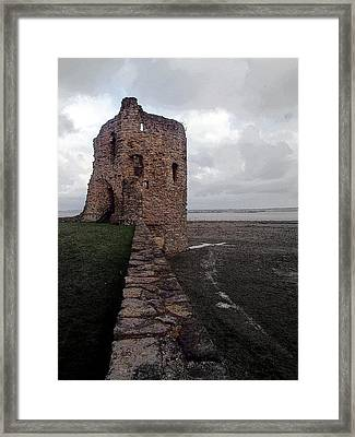 Flint Castle 4 Framed Print by Brainwave Pictures