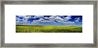 Flint Hills Panorama 1 Framed Print