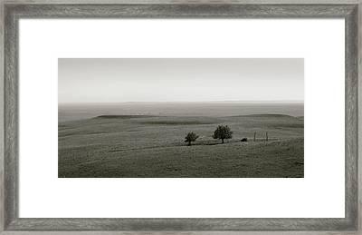 Flint Hills Vistas Framed Print