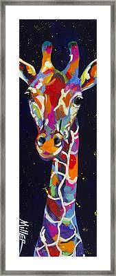 Flirty Framed Print by Tracy Miller