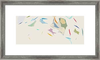 Flitters Framed Print