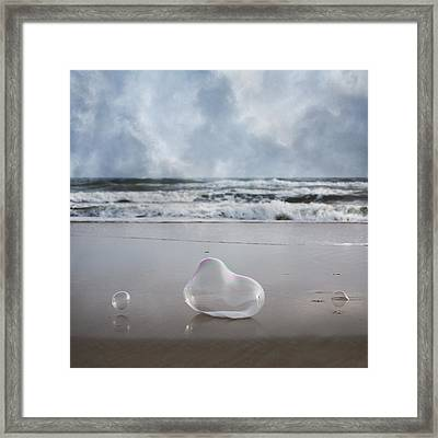 Float Bounce And Roll Framed Print