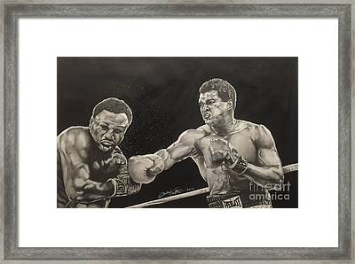 Float Like A Butterfly And Sting Like A Bee Framed Print
