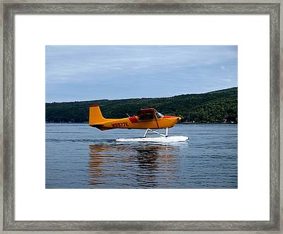 Float Plane Two Framed Print by Joshua House