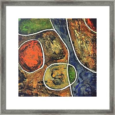 Floater 881 Framed Print by Shelley Graham Turner