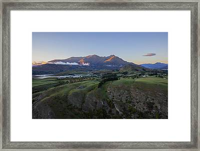 Floating Above The World Framed Print