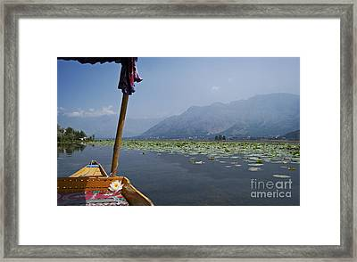 Floating Adventure... Framed Print by Nina Stavlund