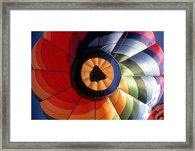 Floating By Framed Print by Gerard Fritz