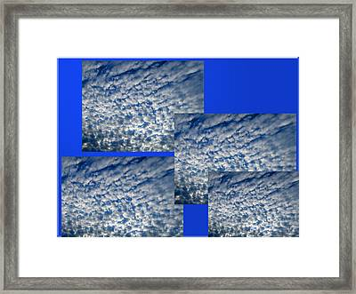 Floating Clouds Framed Print