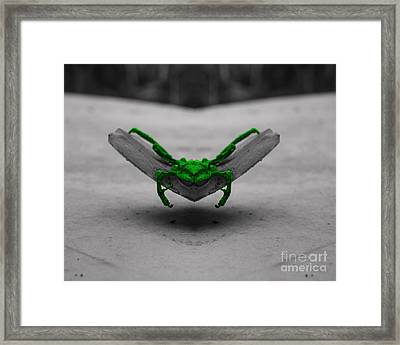 Floating Death Framed Print by Jack Norton