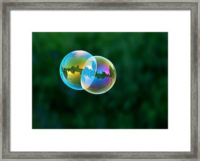 Floating Double Framed Print by Marilynne Bull