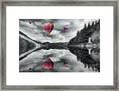 Floating Dreams Framed Print by Ian Mitchell
