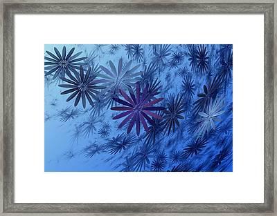 Floating Floral-010 Framed Print