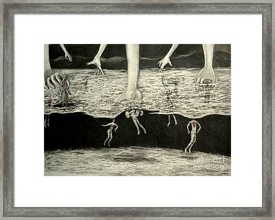 Floating Hearts #5 Framed Print