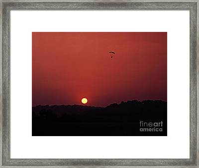 Framed Print featuring the photograph Floating In Space by Thomas Bomstad