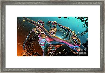 Floating In The Universe Framed Print