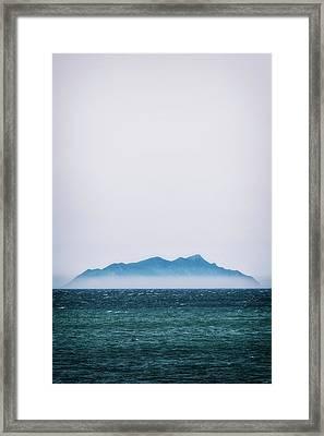 Floating Island Framed Print by Joana Kruse