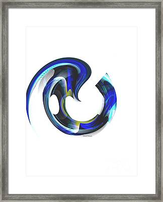 Floating Life Framed Print by Thibault Toussaint
