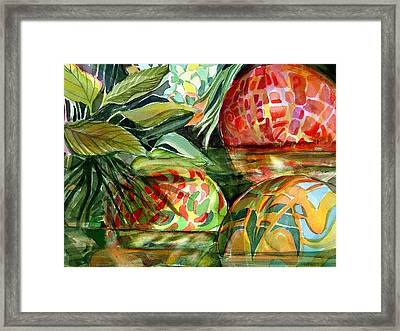 Floating Framed Print by Mindy Newman