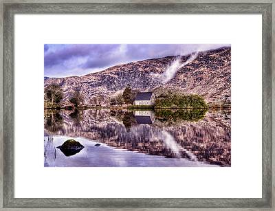 Floating Mirror Framed Print