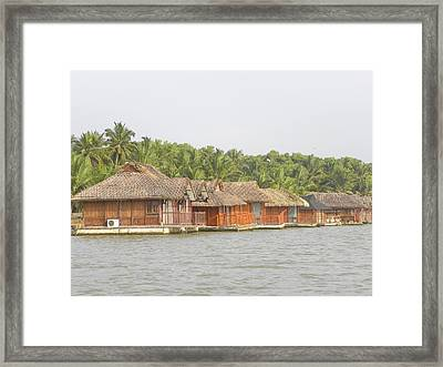 Floating Motel Framed Print by Aim to be Aimless