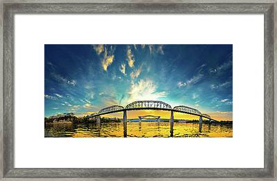 Floating On The River Framed Print by Steven Llorca