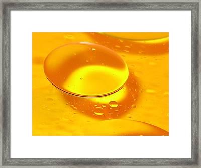 Floating Orb Framed Print