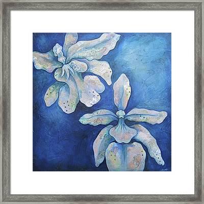Floating Orchid Framed Print