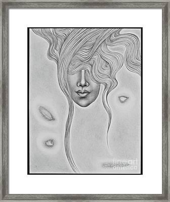Floating Sorrow Framed Print
