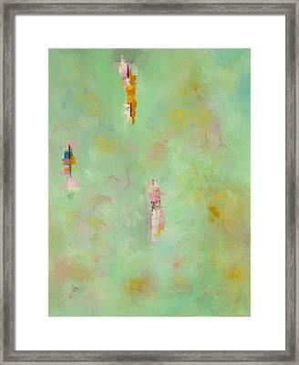 Floating Framed Print by Suzzanna Frank