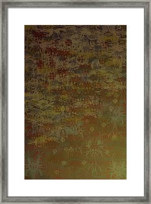 Floating Zen Framed Print