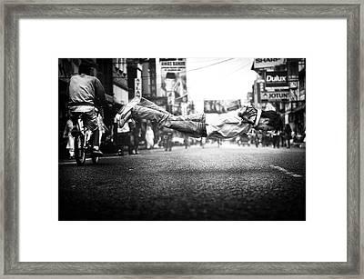 Floats Framed Print by Firman Maulana