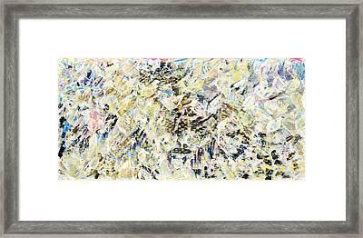 Flock Of Birds Framed Print by Joan De Bot