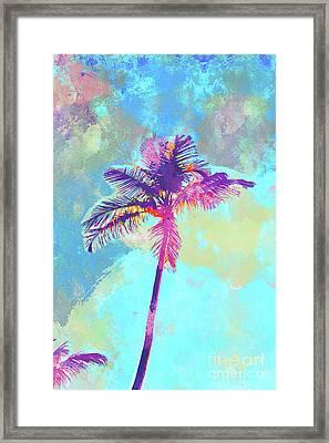 Floirda Palm Framed Print