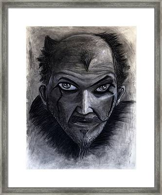 Vikings Floki Framed Print by Lucas Trucios