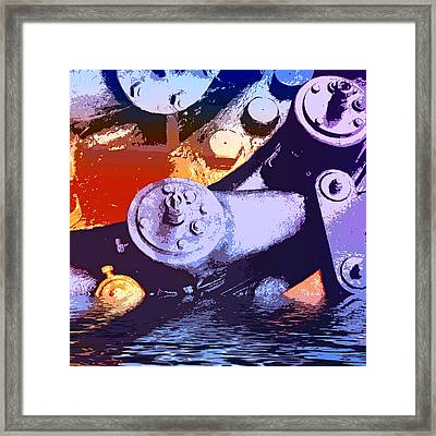 Flood Control Framed Print by Dominic Piperata