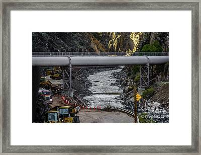 Flood Damage In The Big Thompson Canyon Framed Print by Jon Burch Photography