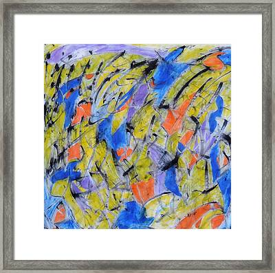 Flood Gate Of Joy Framed Print