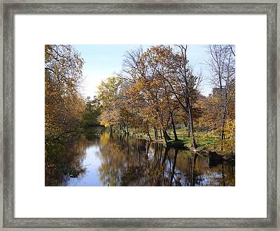 Flood Plain Framed Print
