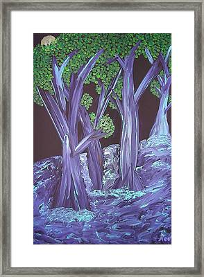 Flooded Forest Framed Print by Joshua Redman
