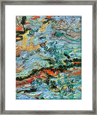 Flooded Landscape Framed Print