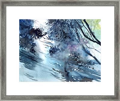 Flooding Framed Print