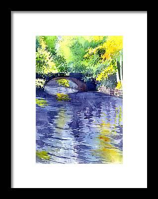 Spring Scenery Framed Prints