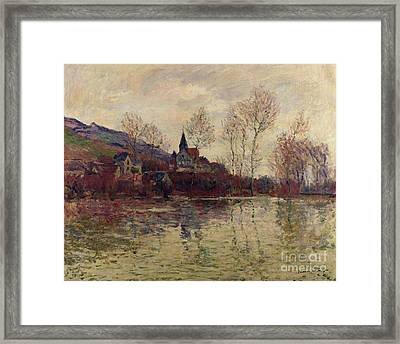 Floods At Giverny Framed Print