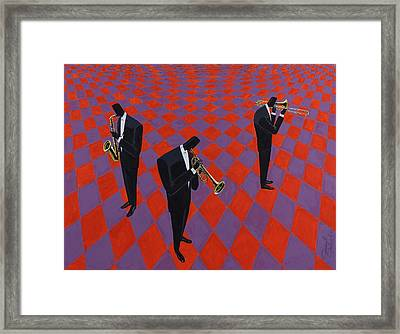 Floorshow Framed Print